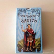 Barajas de cartas: MAZO DE TAROT PREDICCIONES DE LOS SANTOS ILUMINARTE ARGENTINA 78 CARTAS. Lote 105055859
