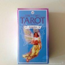 Barajas de cartas: MAZO DE TAROT DE LOS ANGELES ILUMINARTE ARGENTINA NUEVO SELLADO. Lote 105774168