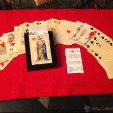Barajas de cartas: BARAJA FACSIMIL DEL 2004 DE UNOS NAIPES CHIARI, ITALIA, 1850, NUEVA, SE SIRVE PRECINTADA.. Lote 54724359