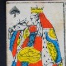 Barajas de cartas: BARAJA INGLESA.19 CARTAS. PAPEL ESTAMPADO MANO. POSIBLEMENTE INGLÉS. XVIII-XIX.. Lote 50337833