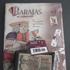 Baralhos de cartas: BARAJAS DE COLECCIÓN Nº 7: EDICIONES DEL PRADO, AÑO 2004. EN BLISTER ORIGINAL. Lote 54806838