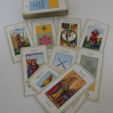 Barajas de cartas: BARAJA DE TAROT. GRIMAUD. BILINGÜE. COMPLETA. AÑOS 40. Lote 71924281