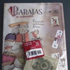 Baralhos de cartas: BARAJAS DE COLECCIÓN Nº 26 : EDICIONES DEL PRADO, AÑO 2004. EN BLISTER ORIGINAL. Lote 54808738
