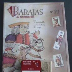 Baralhos de cartas: BARAJAS DE COLECCIÓN Nº 19 : EDICIONES DEL PRADO, AÑO 2004. EN BLISTER ORIGINAL. Lote 54808957