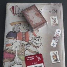 Baralhos de cartas: BARAJAS DE COLECCIÓN Nº 24 : EDICIONES DEL PRADO, AÑO 2004. EN BLISTER ORIGINAL. Lote 54809757