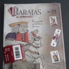 Baralhos de cartas: BARAJAS DE COLECCIÓN Nº 22 : EDICIONES DEL PRADO, AÑO 2004. EN BLISTER ORIGINAL. Lote 54809931