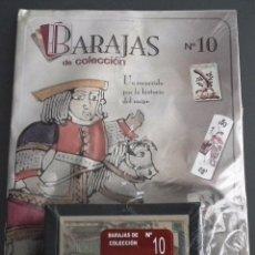 Baralhos de cartas: BARAJAS DE COLECCIÓN Nº 10: EDICIONES DEL PRADO, AÑO 2004. EN BLISTER ORIGINAL. Lote 54810408
