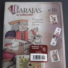 Baralhos de cartas: BARAJAS DE COLECCIÓN Nº 16: EDICIONES DEL PRADO, AÑO 2004. EN BLISTER ORIGINAL. Lote 54810836