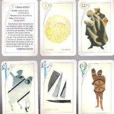 Mazzi di carte: BARAJA ARTISTICA Nº 1, 40 CARTAS NAIPE ESPAÑOL, AÑO 1990. SIN ESTRENAR EN SU ESTUCHE CARTON.. Lote 54818014