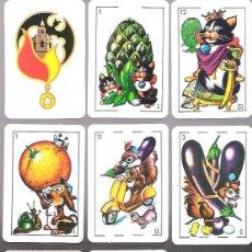 Barajas de cartas: BARAJA ESTAMPAS COMICAS, 48 CARTAS + 2 COMODINES, SIN ESTRENAR, EN ESTUCHE CARTON.. Lote 54818248