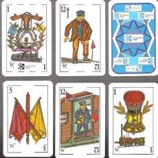 Barajas de cartas: BARAJA FERROVIARIA, RENFE, 48 CARTAS + 2 COMODINES, ESPECIALES, PRECINTADA, TREN, TRENES... Lote 209328638
