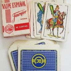 Barajas de cartas: BARAJA ESPAÑOLA DE CARTAS - CAJAS RURALES - HERACLIO FOURNIER - PUBLICIDAD NAIPES JUGUETE - LOGOTIPO. Lote 54856330