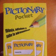 Barajas de cartas: PICTIONARY POCKET. MATTEL GAMES. NUEVO A ESTRENAR.. Lote 107821931