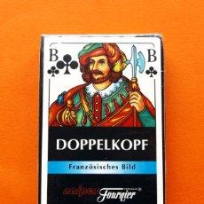 Barajas de cartas: BARAJA DOPPELKOPF - NAIPES FOURNIER - PRECINTADA. Lote 54922040
