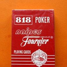 Barajas de cartas: BARAJA 818 POKER - PLAYING CARDS - NAIPES FOURNIER - PRECINTADA -. Lote 54930823