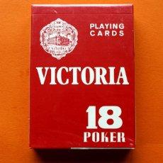 Baralhos de cartas: BARAJA VICTORIA - 18 POKER - PLAYING CARDS - NAIPES FOURNIER - PRECINTADA -. Lote 54931206