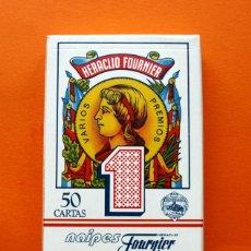 Barajas de cartas: BARAJA ESPAÑOLA - 50 CARTAS Nº 1 - NAIPES FOURNIER - PRECINTADA . Lote 54957925