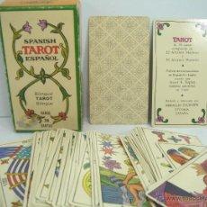 Barajas de cartas: BARAJA CARTAS COMPLETA - HERACLIO FOURNIER - TAROT ESPAÑOL - 78 CARTAS ¡¡¡M.B.E.¡¡¡. Lote 54960364
