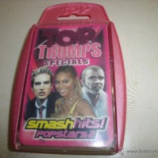 Barajas de cartas: BARAJA TOP TRUMPS SPECIALS 2003 SMASH HITS POPSTARS. Lote 54988369