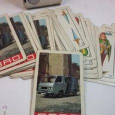Barajas de cartas: BARAJA DE CARTAS NAIPES HERACLIO FOURNIER 40 CARTAS PUBLICIDAD DE EBRO. Lote 55007841