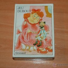 Barajas de cartas: RARA BARAJA POKER FRANCESA 54 CARTAS JEU DUBOUT GRIMAUD. Lote 55037021