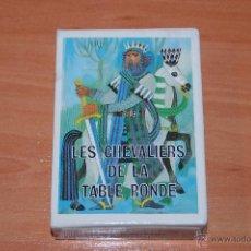 Barajas de cartas: RARA BARAJA POKER FRANCESA 54 CARTAS LES CHEVALIERS DE LA TABLE RONDE GRIMAUD. Lote 55037124