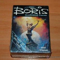 Barajas de cartas: JUEGO DE CARTAS 90 CARTAS + 1 CARTA ESPECIAL PROMO BORIS 2 BORIS VALLEJO. Lote 55038385