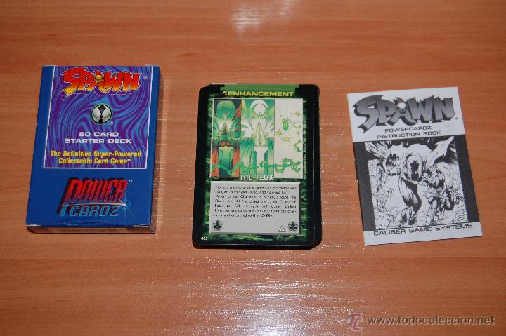 JUEGO DE CARTAS 50 CARTAS SET INICIACION SPAWN POWER CARDZ (Juguetes y Juegos - Cartas y Naipes - Otras Barajas)