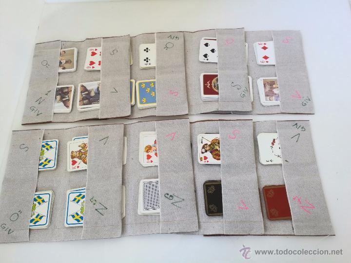 Barajas de cartas: MUY BUENA COLECCIÓN DE 8 BARAJAS DE CARTAS DE PÓQUER DE CALIDAD - AÑOS 80 - CLASIFICADAS - Foto 3 - 55075610