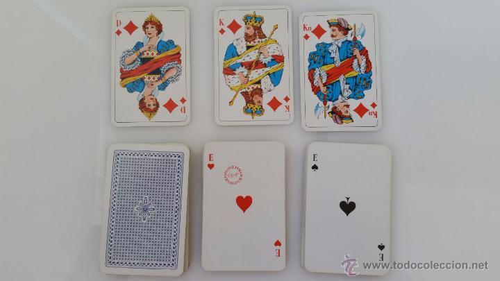 Barajas de cartas: MUY BUENA COLECCIÓN DE 8 BARAJAS DE CARTAS DE PÓQUER DE CALIDAD - AÑOS 80 - CLASIFICADAS - Foto 7 - 55075610