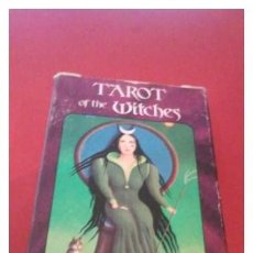 Barajas de cartas: TAROT OF THE WITCHES, BARAJA COMPLETA Y RARA.. Lote 55137878