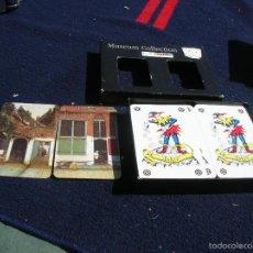 Barajas de cartas: DOBLE BARAJA CARTA MUNDI DEL RIJKS MUSEUM DE MASTERDAM BIEN CONSERVADA CJ 1. Lote 55155212