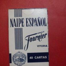 Barajas de cartas: NAIPE ESPAÑOL. FOURNIER. PATRONATO DE TURISMO. GRAN CANARIA. LANZAROTE. FUERTEVENTURA. (PRECINTADO). Lote 55235594