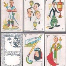Barajas de cartas: BARAJA CINE MANUAL, PATENTE 34.141, AÑOS 20 - 30, 48 CARTAS SIN ESTRENAR.. Lote 55243324