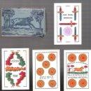 Barajas de cartas: BARAJA EL TORO DE 1940, SIN ESTRENAR, 40 CARTAS, TIMBRE DE EXPORTACION. SIN INDICES.. Lote 55244508