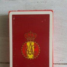 Barajas de cartas: BARAJA DEL RAC PRECINTADA. HERACLIO FOURNIER. Lote 55367962