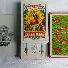 Barajas de cartas: BARAJA FOURNIER N - 1 PUBLICITARIA. SOCIEDAD FRANCO ESPAÑOLA COMPLETA . Lote 55400798