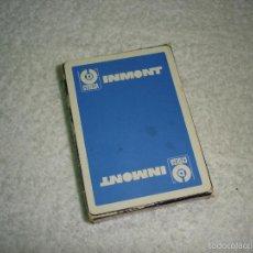 Barajas de cartas: BARAJA CARTAS POKER, HERACLIO FOURNIER - INMONT CYDESA. 54 NAIPES.. Lote 55695032