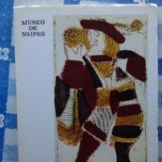 Barajas de cartas: MUSEO DE NAIPES, HERACLIO FOURNIER, 1972, VITORIA. Lote 55769151