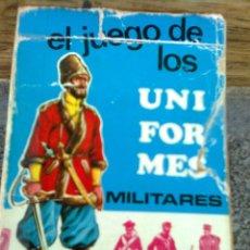Barajas de cartas: BARAJA INFANTIL. EL JUEGO DE LOS UNIFORMES MILITARES. COMPLETA. EDICIONES RECREATIVAS. 1970. Lote 55781690