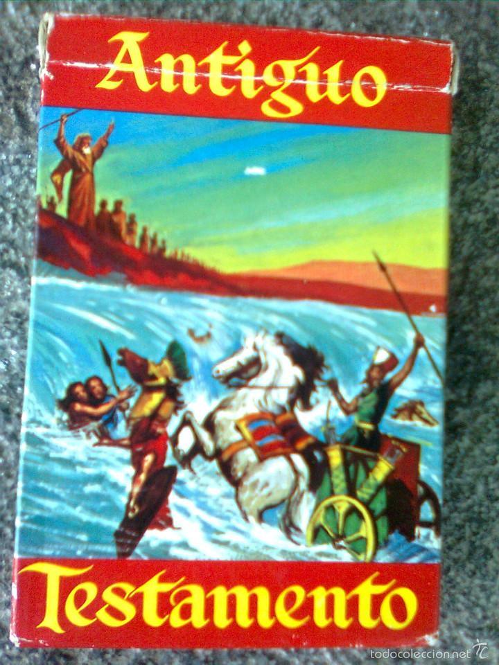 BARAJA INFANTIL FOURNIER. ANTIGUO TESTAMENTO. 48 CARTAS. 1969. (Juguetes y Juegos - Cartas y Naipes - Barajas Infantiles)