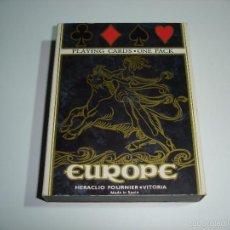 Barajas de cartas: BARAJA CARTAS, HERACLIO FOURNIER - EUROPE. . Lote 55810198