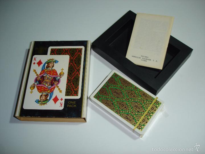 Barajas de cartas: BARAJA CARTAS, HERACLIO FOURNIER - EUROPE. - Foto 3 - 55810198