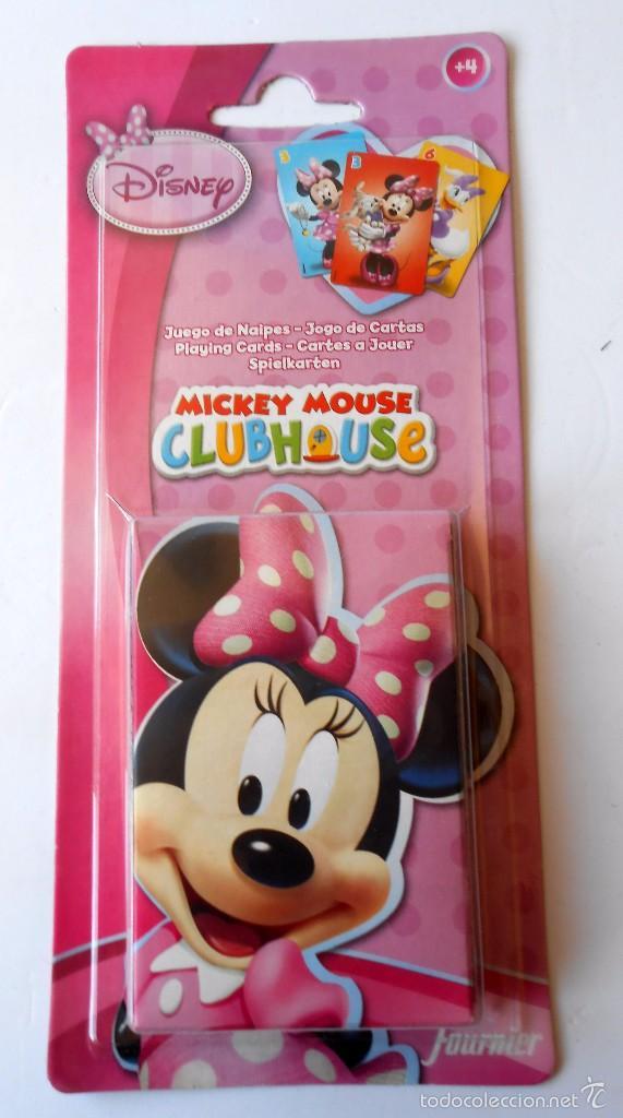 MICKEY MOUSE CLUB HOUSE JUEGO DE CARTAS (Juguetes y Juegos - Cartas y Naipes - Barajas Infantiles)