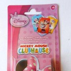 Barajas de cartas: MICKEY MOUSE CLUB HOUSE JUEGO DE CARTAS. Lote 55868495
