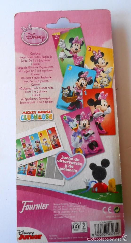 Barajas de cartas: MICKEY MOUSE CLUB HOUSE JUEGO DE CARTAS - Foto 2 - 55868495