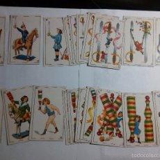Barajas de cartas: BARAJA ANTIGUA AÑOS 20 FUTBOLISTAS CHOCOLATES ZURICALDAY. Lote 55876582