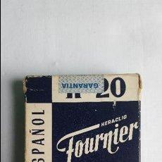 Barajas de cartas: BARAJA CARTAS POKER N 20 FOURNIER PRECINTADA . Lote 56010590