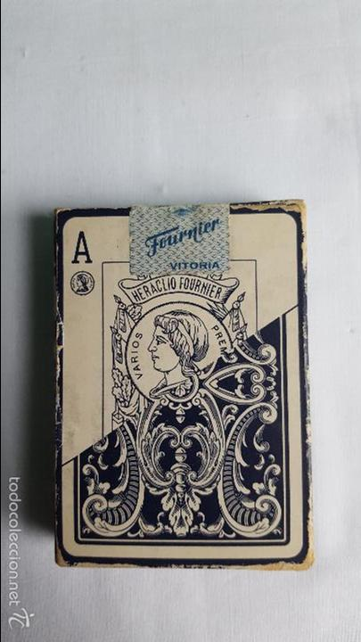 Barajas de cartas: Baraja cartas poker N 20 fournier precintada - Foto 2 - 56010590