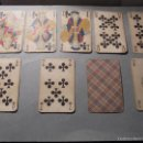 Barajas de cartas: ANTIGUA BARAJA FRANCESA S. XIX PARA JUGAR AL JUEGO DEL BELOTE , PIQUET , MANILLE 32 CARTAS COMPLETA. Lote 56084766